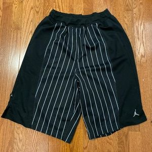 RARE Jordan Pinstripe Basketball Shorts Men's - L